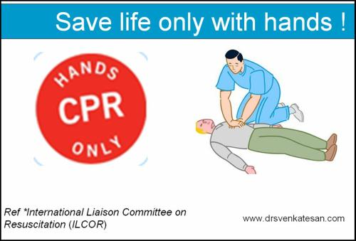 cpr hands only ilcor lancet