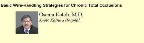 cto chronic total occlusion  Katoh coronary angiogram