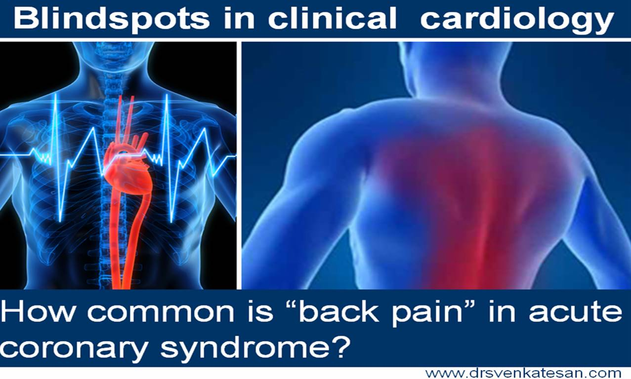 back pain chest pain acs nstemi stemi