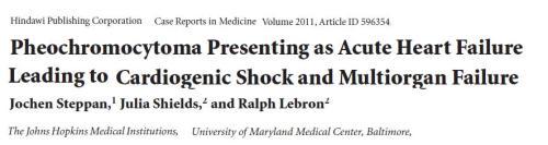 pheochromocytoma and dcm dilated cardiomyopathy .catecholamine induced dcm tachycardiac adrenal cardiomyopathy