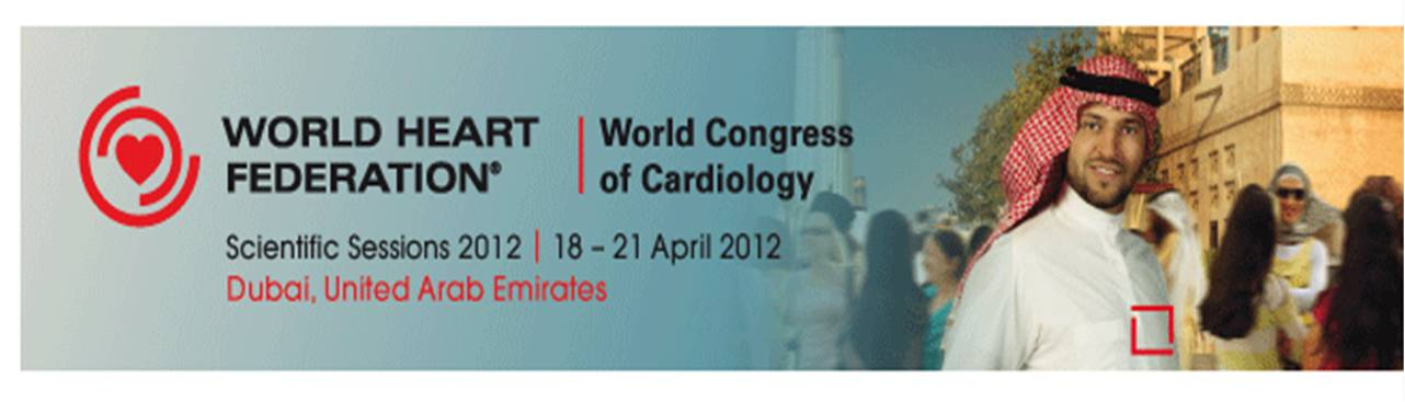 world congress cardiology dubai  3  2012