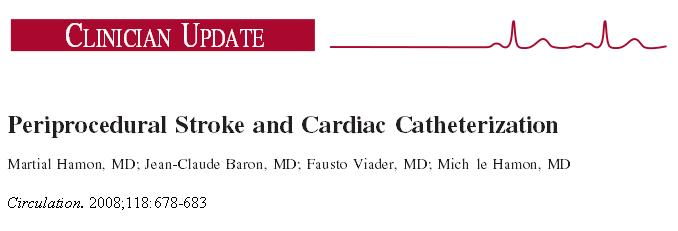 Does radial  coronary Interventions  increase stroke risk ? (4/4)