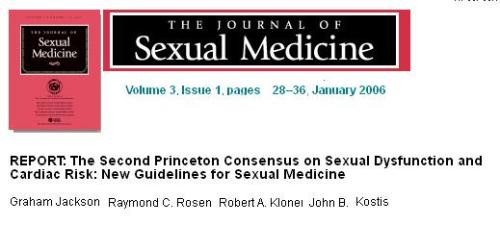 princeton consensus conference sexual dysfunction in cardiology
