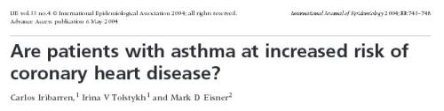 bronchial asthma and cad