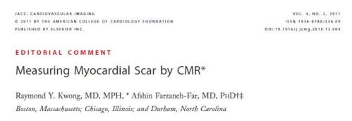 myocardial scarring mri