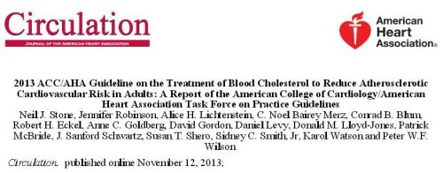 acc aha 2013 guidelines cholesterol ncep