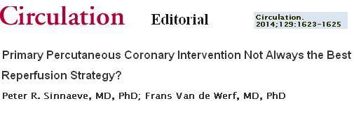 primary pci vs thromolysis debate fast study
