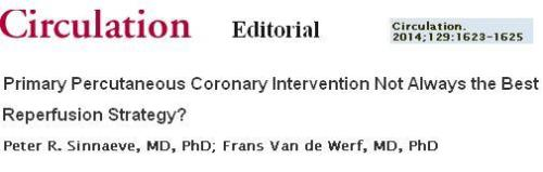 primary pci vs thromolysis debate fast study