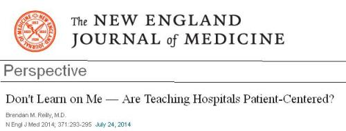 Super specialist tertiary care hospital NEJM