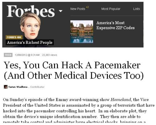 pacemaker hacking icd