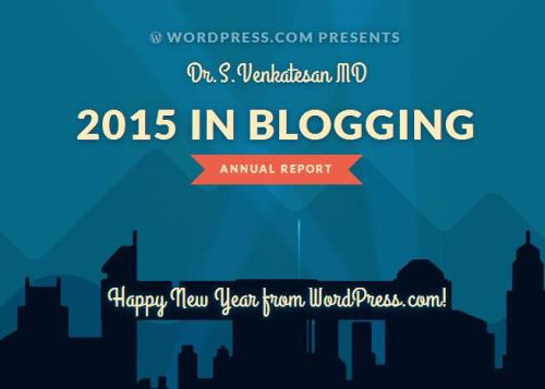 wordpress annual report dr venkatesan