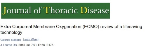 ECMO review article